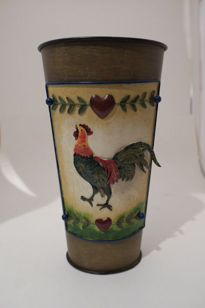 Rooster Vase