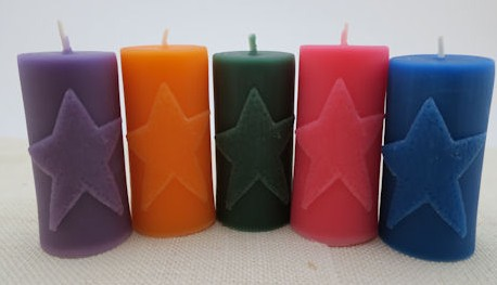 Star Affirmation Candle
