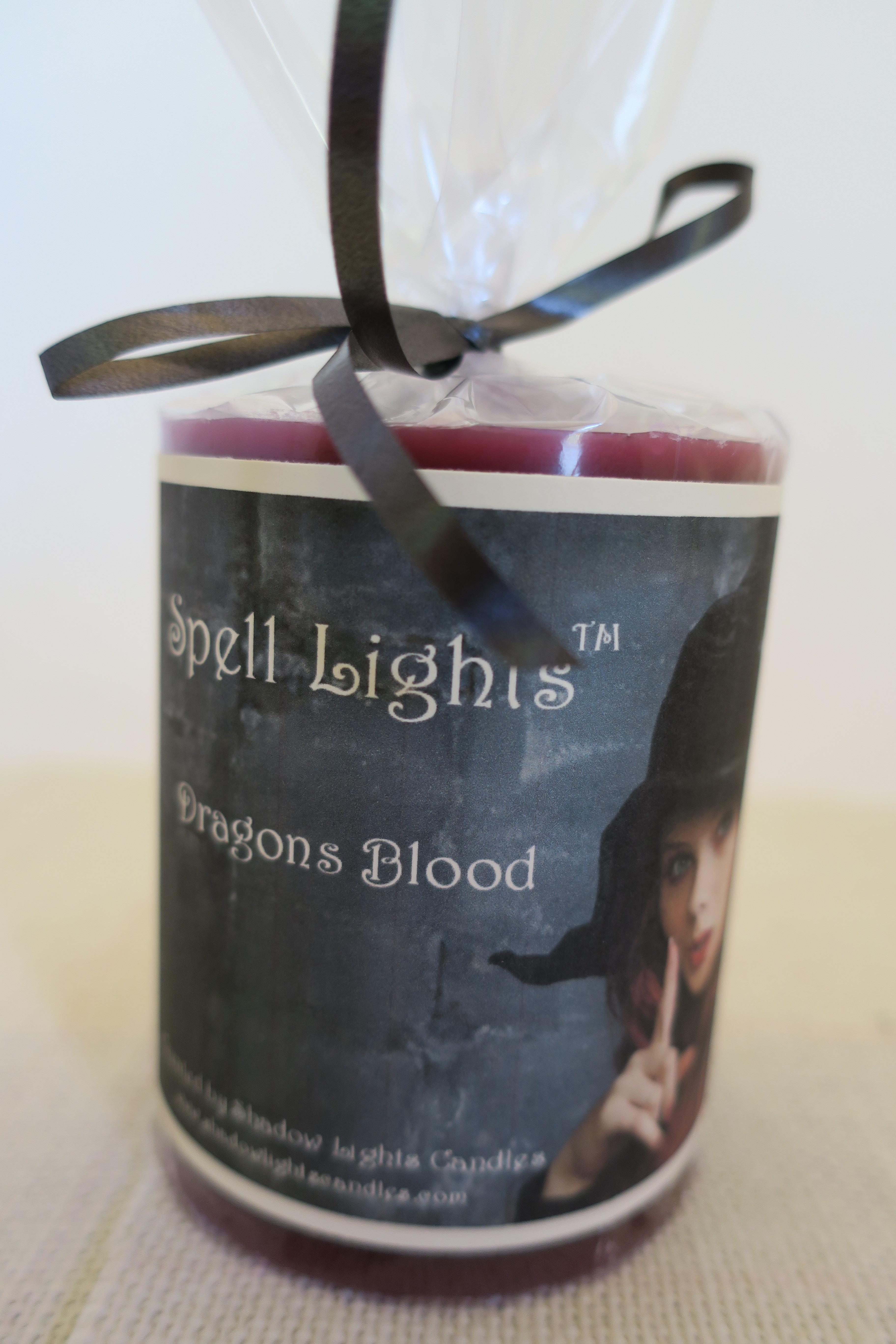 Spell Lights Dragons Blood Pillar